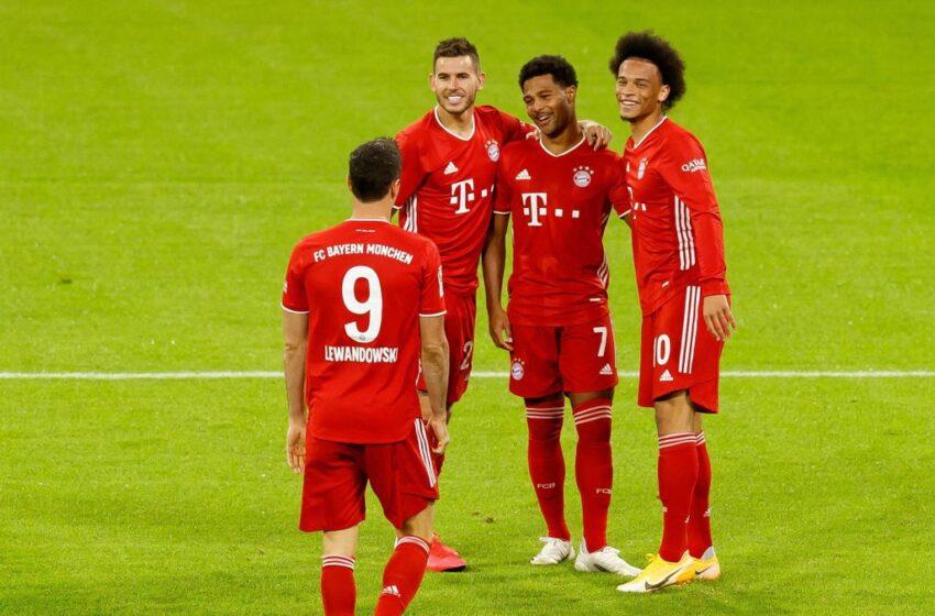 Tmien Gowls minn Bayern Munich fl-Ewwel Logħba tal-Bundesliga