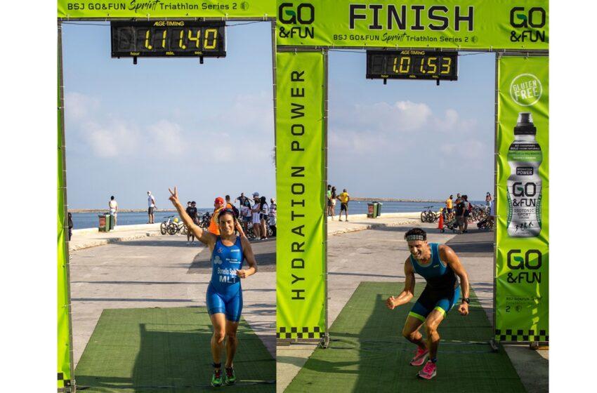 Bonavia U Bonello Spiteri Jirbħu l-Kampjonat Nazzjonali 'Sprint Triathlon'