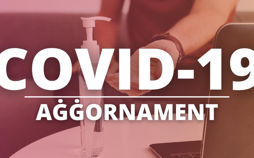 Aġġornament: Covid-19