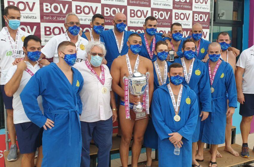 Bil-Filmat: Waterpolo: Valletta Champions Tal-Kampjonat Tal-Ewwel Diviżjoni