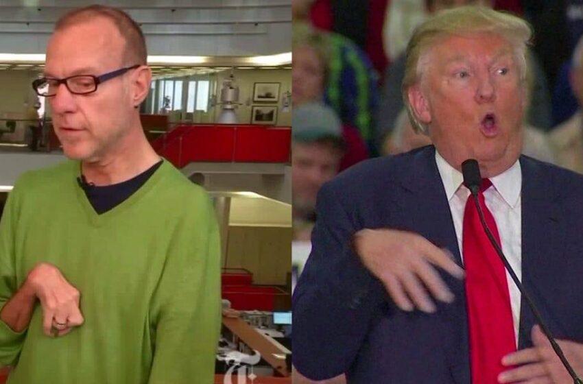 Il-Midja Amerikana Terġa' Tfakkar Meta Trump Iżżufjetta B'Ġurnalist Diżabbli