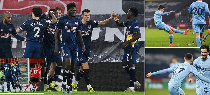 PL – Man City u Arsenal Rebħiet Komdi 'away'.. Inter fis-SF tal-Coppa Italja Wara Rebħa fid-'derby'