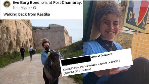 Eve Borg Bonello B'Rapport Lill-Pulizija Wara Li Rċeviet Tgħajjir Minħabba Post Li Tellgħet Fuq Facebook