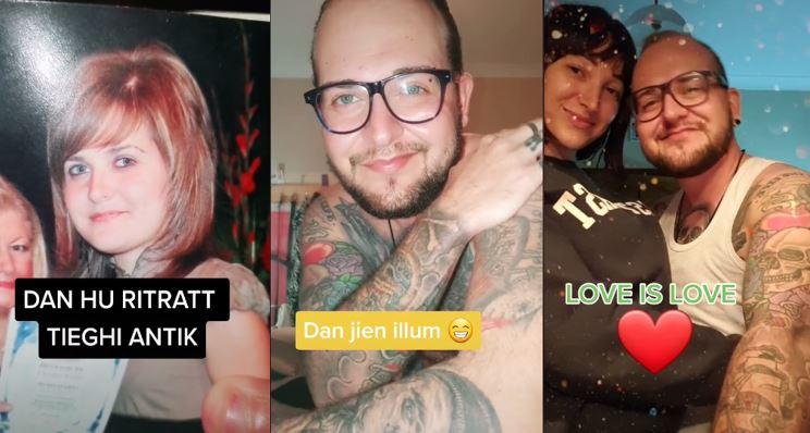 Bil-Filmat: Ġuvni Transgender Juri Ritratti Mill-Passat Fuq TikTok U Jirċievi Sapport Enormi