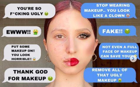 Mgħajjra Kerha Meta Bla Make-Up U Falza Meta Jkollha L-Make-Up