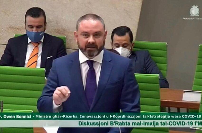 """Bil-Filmat: """"Se Noħorġu Minn Din L-Isfida…"""" – Il-Ministru Owen Bonnici"""