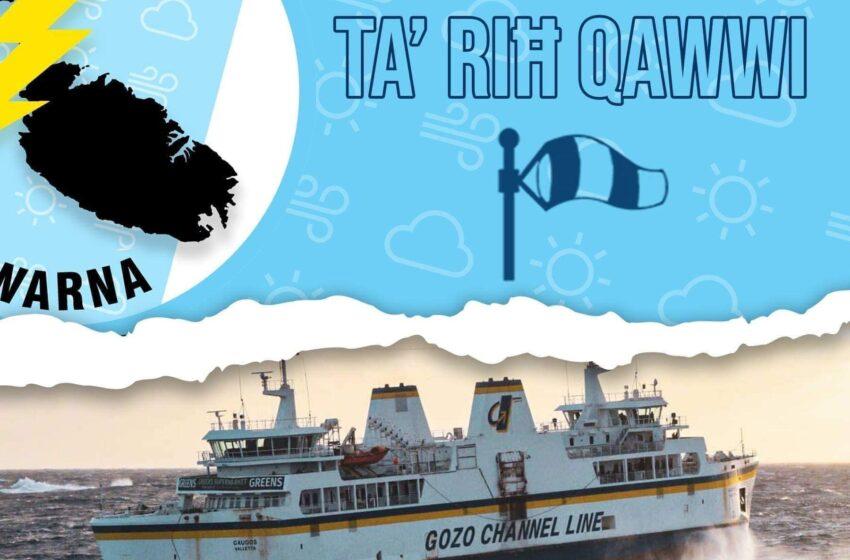 Twissija Ta' Riħ Qawwi