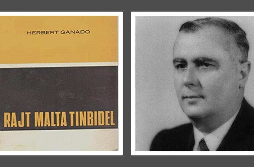Herbert Ganado Twieled Bħal-Lum…