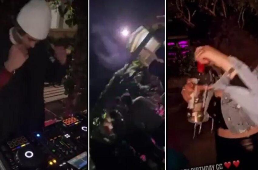 Party Illegali; Jitkellmu Wħud Minn Dawk Preżenti