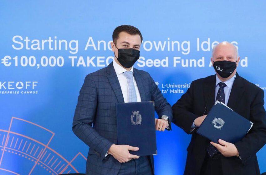 €100,000 Għar-Riċerkaturi Sabiex L-Ideat Tagħhom Ikunu Kkumerċjalizzati