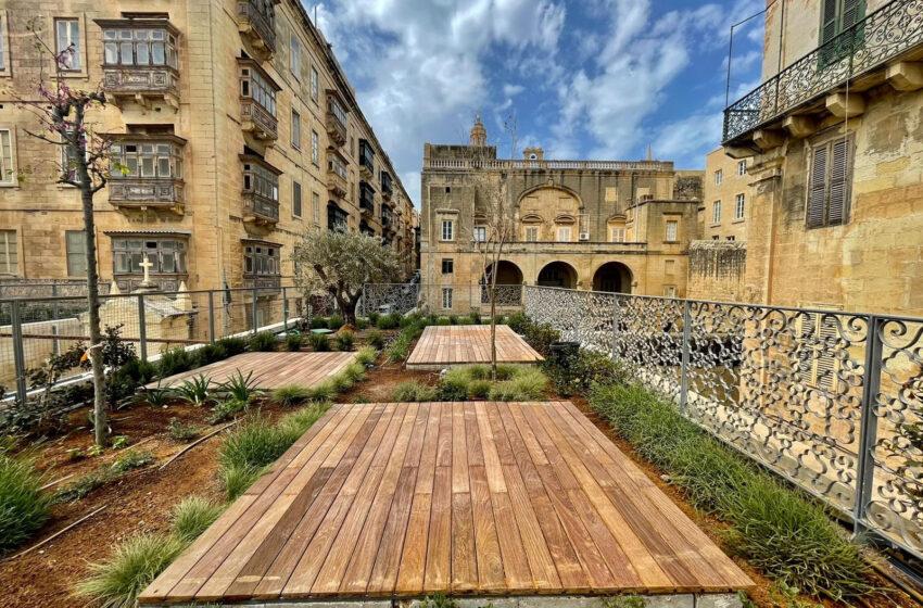 Jitħabbar Il-Valletta Green Festival 2021 – Ġnien Ġdid Fuq Il-Bejt Tal-Valletta Design Cluster