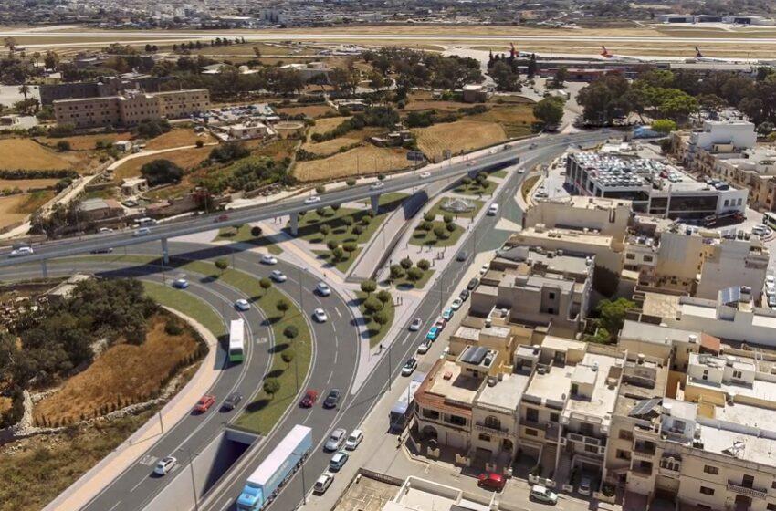 Approvat Il-Proġett Ta' Flyover U Mina Taħt L-Art Minflok Ir-Roundabout Ewlenija Ta' Ħal Luqa