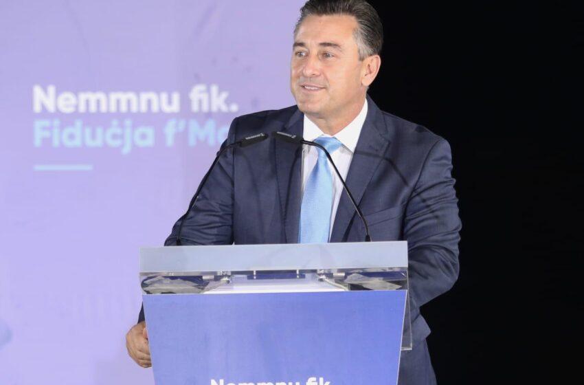 """""""Gvern Ġdid Nazzjonalista Jġib Lura Lil Malta Fuq Il-Lista Bajda Fi Żmien 3 xhur"""" – Il-PN"""