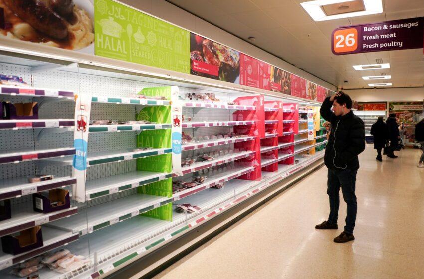 Bosta Supermarkets Fl-Ingilterra B'Xkafef Vojta