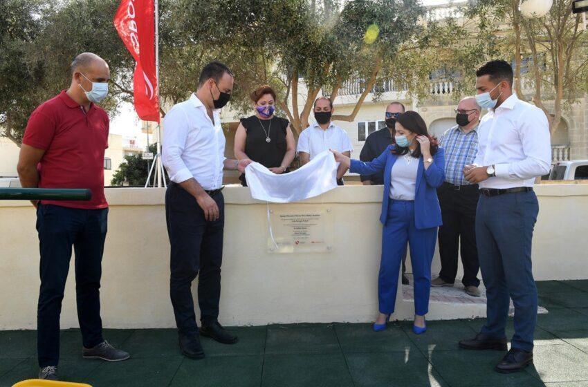 Investiment Ta' €25,000 F'Faċilità Għall-Eżerċizzju Fiżiku Fil-miftuħ Fl-Imqabba