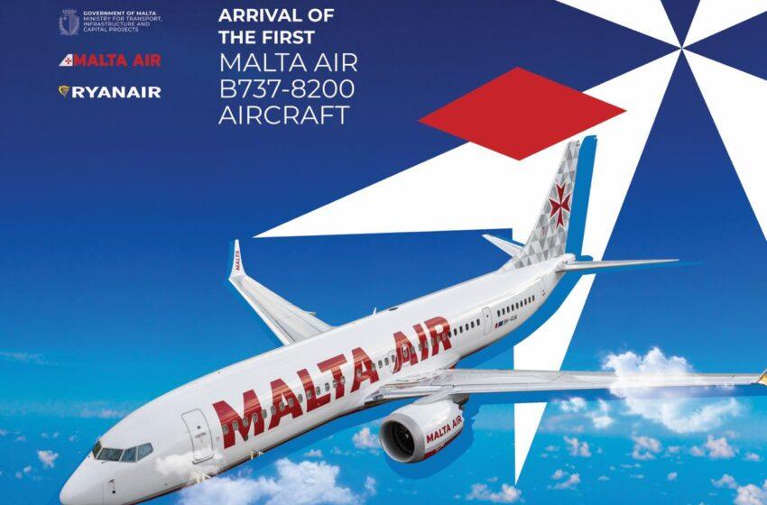 Dirett: Jasal L-Ewwel Ajruplan Tal-Malta Air