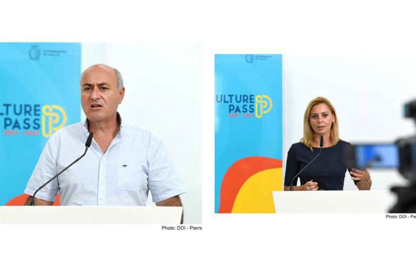 Allokati €200,000 Għall-'Culture Pass 2021-2022'