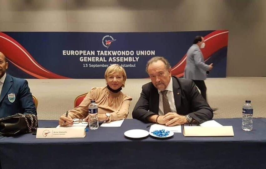 Anna Vassallo Eletta Bħala Viċi President Tal-Unjoni Ewropea Tat-Taekwondo