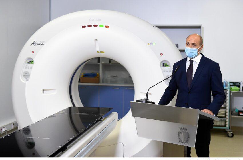 Id-DPM U Ministru Tas-Saħħa Chris Fearne Jinawgura Apparat Ġdid Fis-Sir Anthony Mamo Oncology Centre