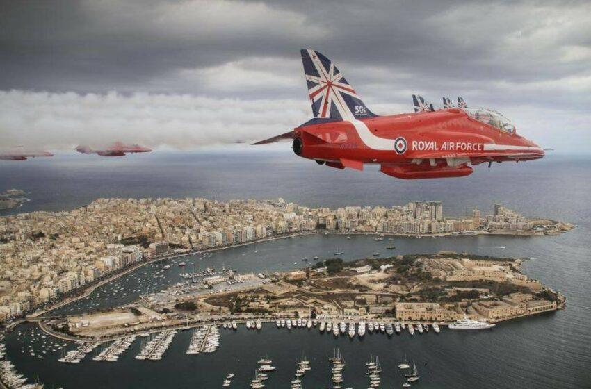 Bil-Filmat: Jaslu R-Red Arrows F'Malta