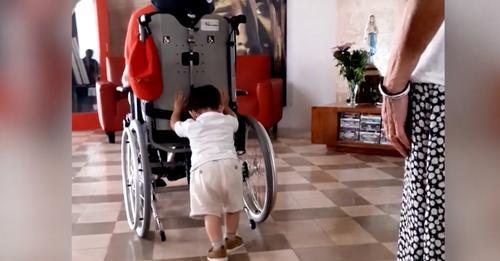 Bil-Filmat: Flok In-Nannu Jerfgħu, Jimbuttah In-Neputi ta' 3 Snin Bil-Wheelchair