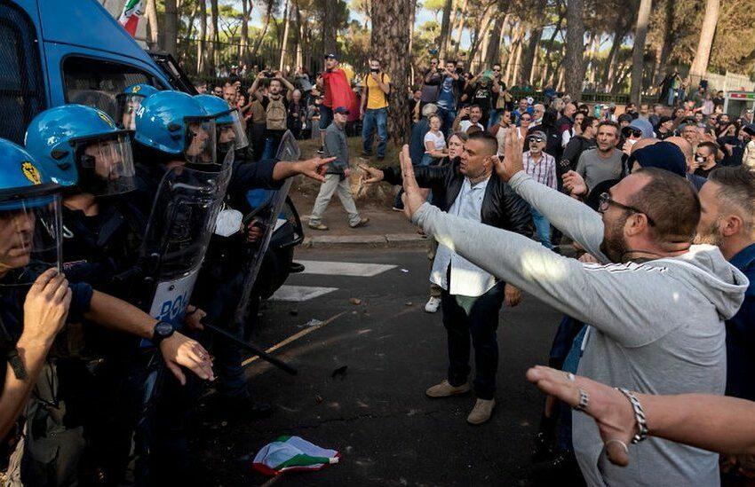 Mil-Lum Fl-Italja Ħadd Ma Jista' Jaħdem Mingħajr Il-Green Pass – Diversi Protesti Madwar Il-Pajjiż