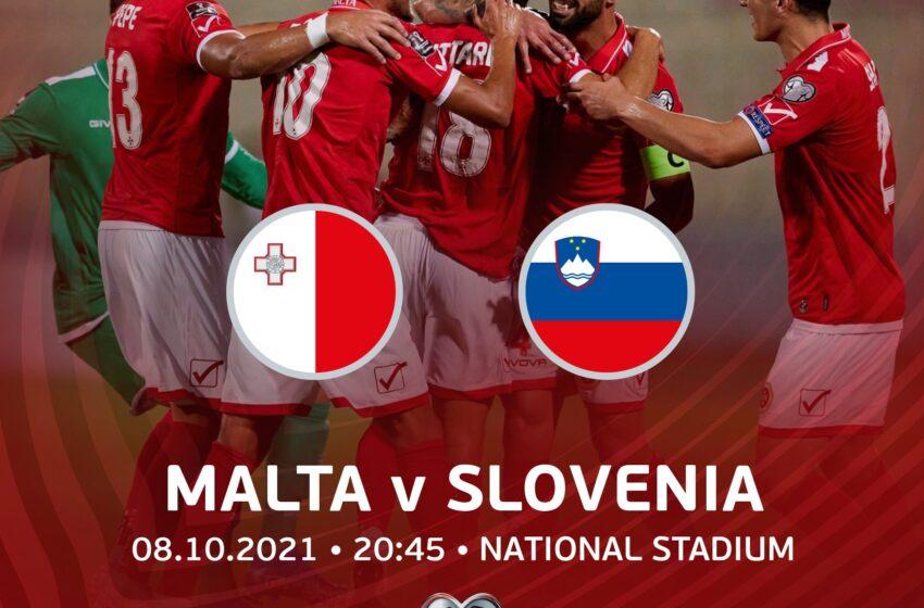 Illejla Malta vs Slovenja – Il-Biljetti Jinbiegħu Kollha